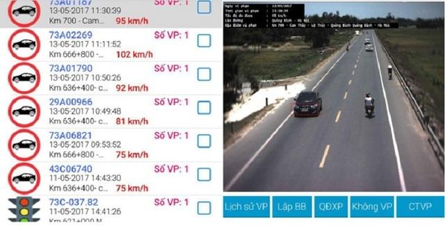 Lắp đặt hệ thống giám sát, xử lý vi phạm giao thông trên QL 1A - 1