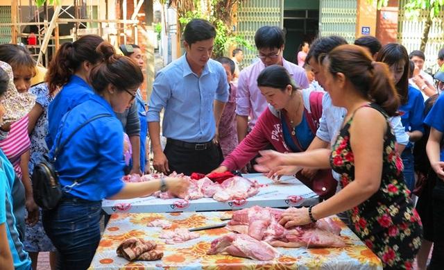 Bình Định vẫn còn tồn trên 32.000 con heo trong nhân dân