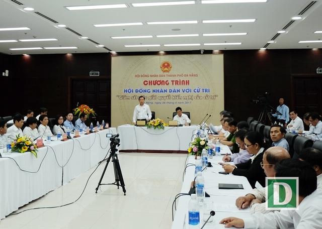 Đà Nẵng lần đầu tiên tổ chức chương trình Hội đồng nhân dân với cử tri