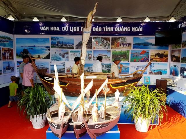 Không gian triển lãm biển đảo tỉnh Quảng Ngãi