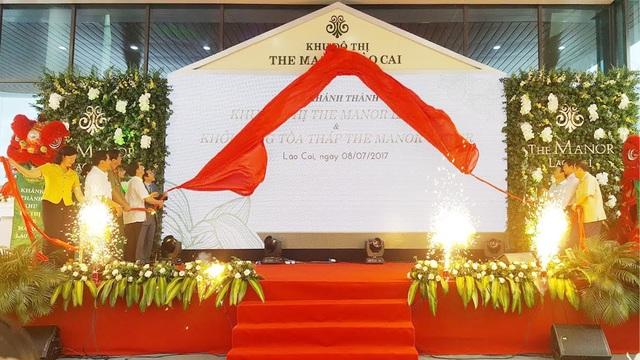 BITEXCO đã chính thức khánh thành khu đô thị The Manor Lào Cai