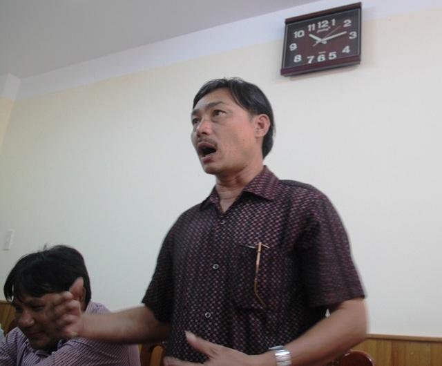 Ngư dân Định Công Khánh, chủ tàu vỏ thép BĐ 99086 TS yêu cầu Công ty TNHH MTV Nam Triệu phải sớm thay máy mới