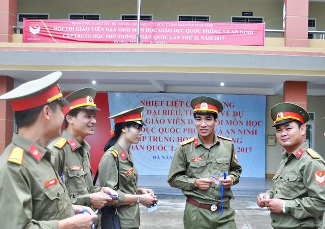 Có 294 thí sinh là GV giỏi bộ môn GD Quốc phòng và an ninh từ 52/63 tỉnh, thành dự thi
