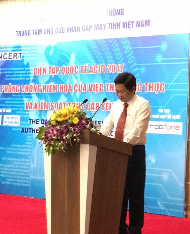 Ông Nguyễn Khắc Lịch, Phó Giám đốc Trung tâm Ứng cứu sự cố máy tính Việt Nam (VNCERT)