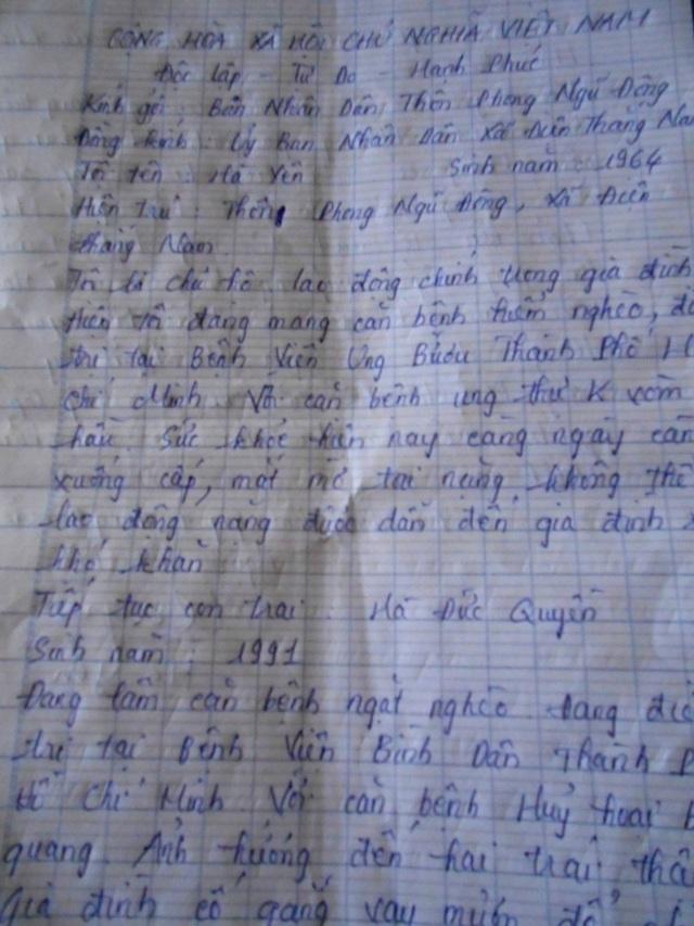 2 chị em đứng trước nguy cơ bỏ học vì cha và anh mắc bệnh nặng - 3