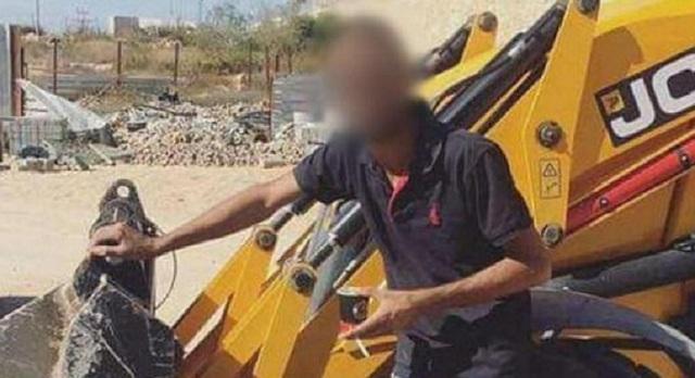 Người đàn ông bị bắt giữ sau khi đăng tải tấm hình như trên.