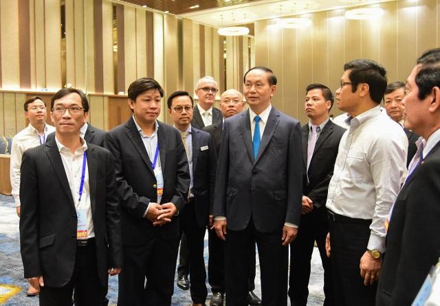Chủ tịch nước kiểm tra các công trình phục vụ APEC tại Đà Nẵng