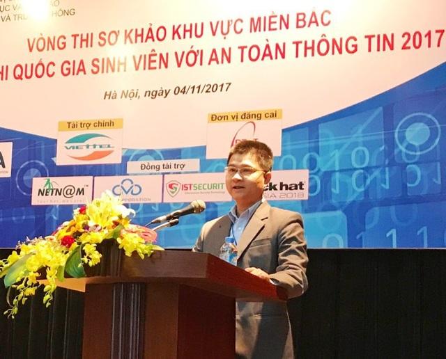 Ông Tô Hồng Nam, Phó cục trưởng Cục Giáo dục & Đào tạo