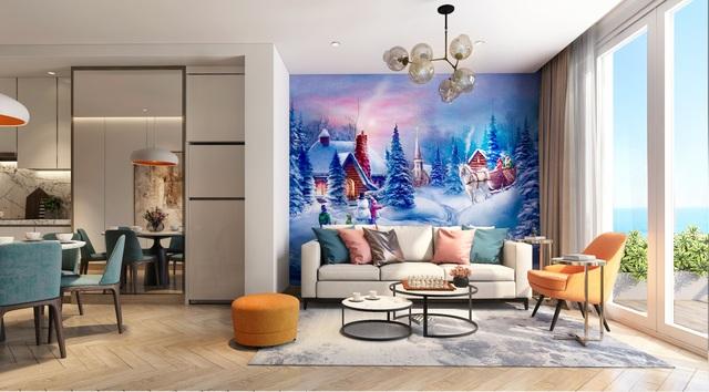 Sắc màu cổ tích tại thiết kế nội thất của Coco Wonderland Resort
