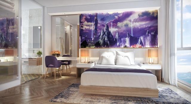 """Phối cảnh nội thất tòa Condotel cổ tích Coco Wonderland Resort đang """"dậy sóng"""" thị trường đầu tư"""