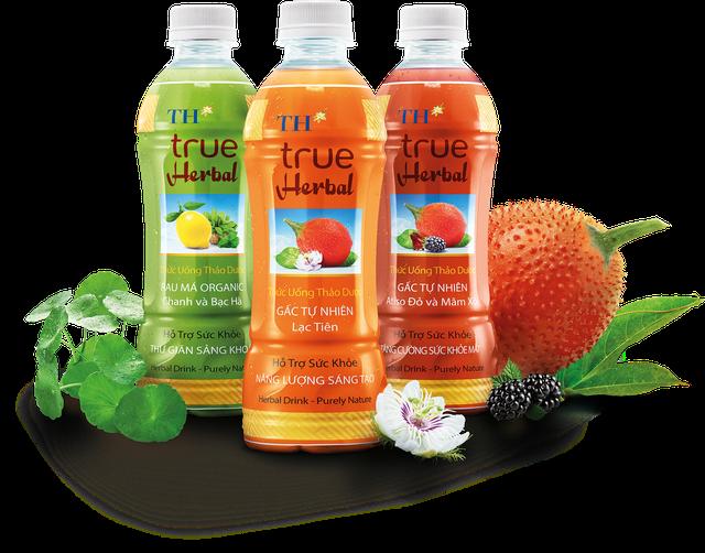 3 sản phẩm nước uống thảo dược TH true Herbal ra mắt thị trường ngày 20/8/2017