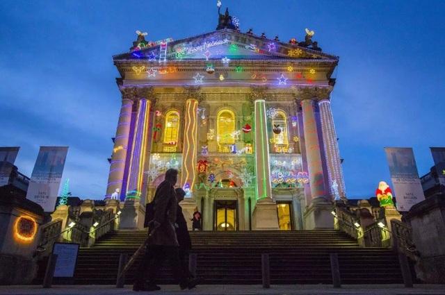 Phòng trưng bày nghệ thuật Tate Britain ở trung tâm London, Anh.