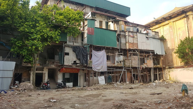 Từ năm 2011, UBND TP Hà Nội đã chấp thuận đầu tư Dự án xây dựng lại khu tập thể 30A Lý Thường Kiệt
