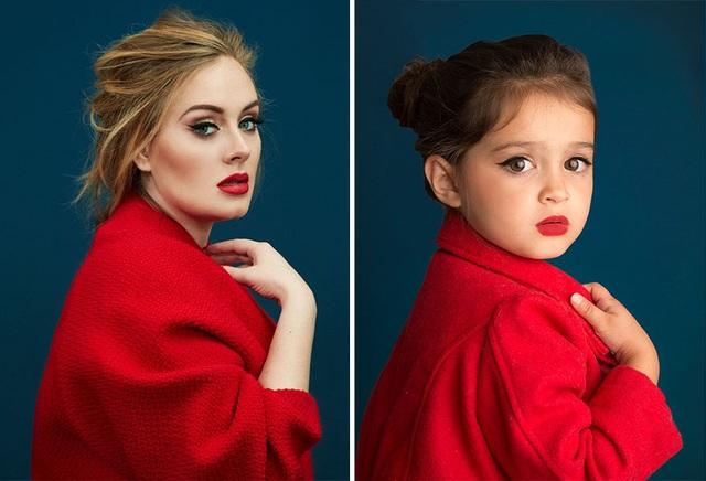 Nữ ca sĩ Adele và cô bé Scout