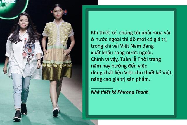 """Xem thêm: NTK Phương Thanh: """"Nghịch lý thời trang Việt nhập vải ngoại khiến chúng tôi trăn trở"""""""