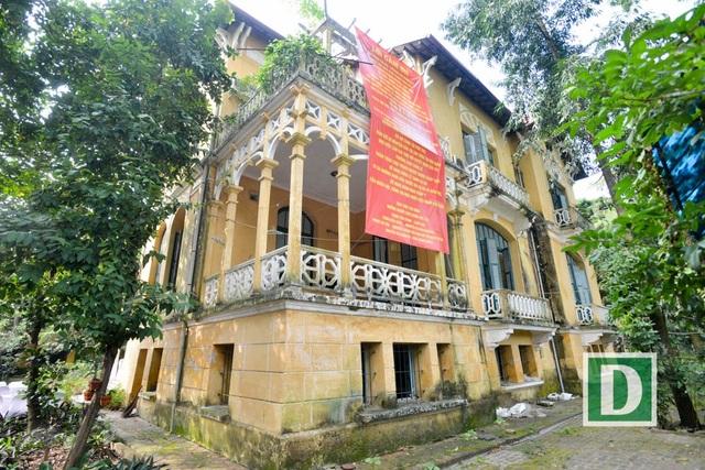 Căn biệt thự 34 Hoàng Diệu của gia đình nhà tư sản Trịnh Văn Bô.