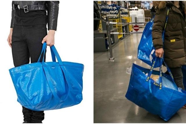 ... có thiết kế giống hệt túi dùng trong siêu thị nội thất