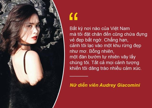 """Xem thêm: Gặp gỡ nữ diễn viên gốc Việt xinh đẹp của phim """"Bầu trời đỏ"""""""