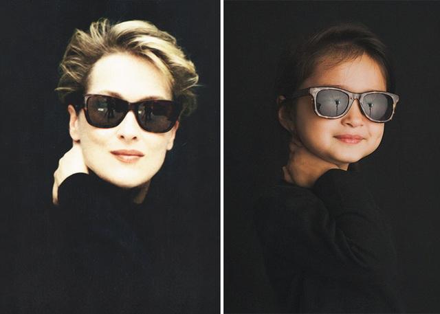 Scout hóa thân thành nữ diễn viên kỳ cựu Meryl Streep.