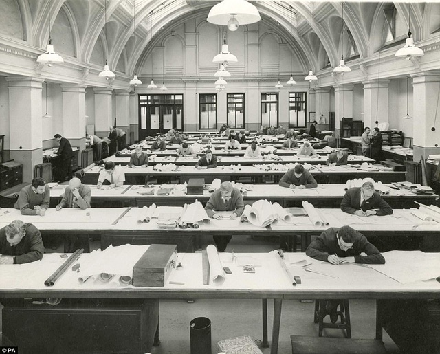 Các kỹ sư từng thiết kế nên con tàu Titanic trong chính căn phòng này.
