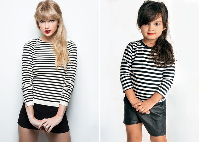 """Nữ ca sĩ Taylor Swift và phiên bản """"cô bé Scout"""""""