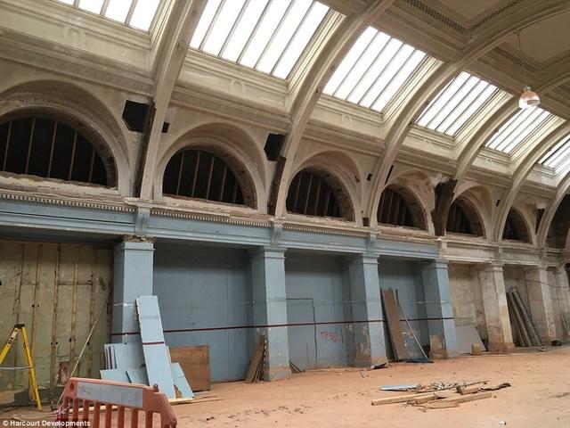 Công trình này được phục dựng lại để giữ nguyên kiến trúc và giá trị lịch sử của công trình.