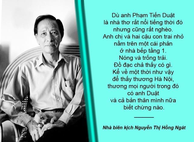 Xem thêm: Điều chưa biết về cố nhà thơ Phạm Tiến Duật qua lời kể của nhà biên kịch Hồng Ngát