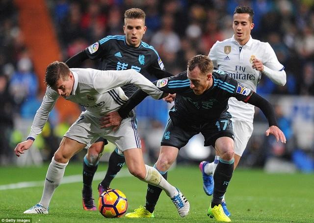 Real Madrid tiếp tục độc tôn ở ngôi đầu bảng La Liga