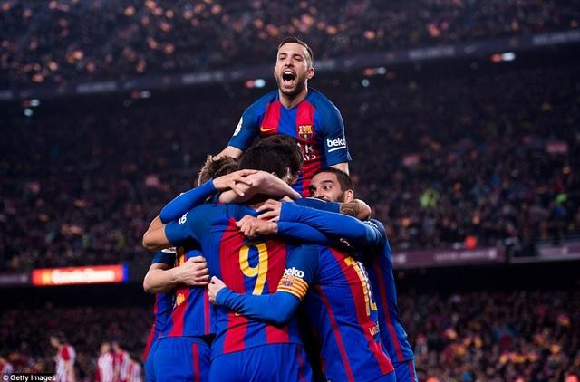 Barcelona giành quyền vào chung kết Cúp Nhà vua và có cơ hội bảo vệ ngôi vô địch