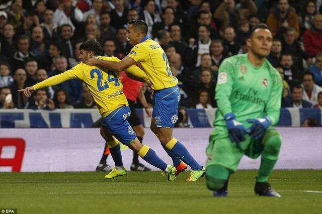 Las Palmas đã chơi đầy ấn tượng ở trận đấu này