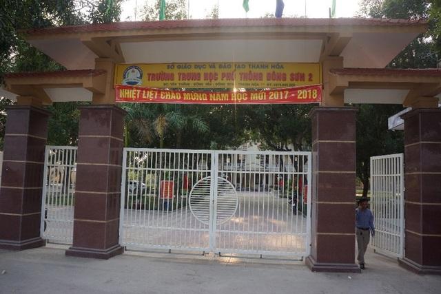 Trường THPT Đông Sơn 2, huyện Đông Sơn, Thanh Hóa.