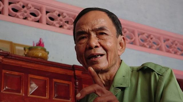 Kể về những ngày máu lửa, giọng cựu chiến binh Vũ Chí Thành vẫn mạnh mẽ, dõng dạc dù đã bước sang tuổi 70