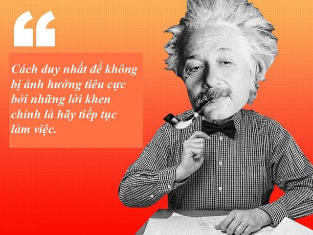 "20 câu nói ""bất hủ"" của thiên tài Albert Einstein - 4"