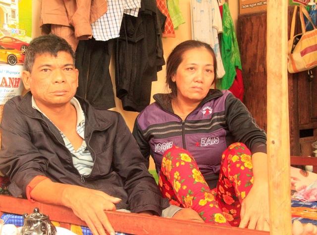 Vợ chồng ông Trung bà Đầm (huyện Hoài Nhơn, Bình Định) 8 năm không đón Tết ở nhà