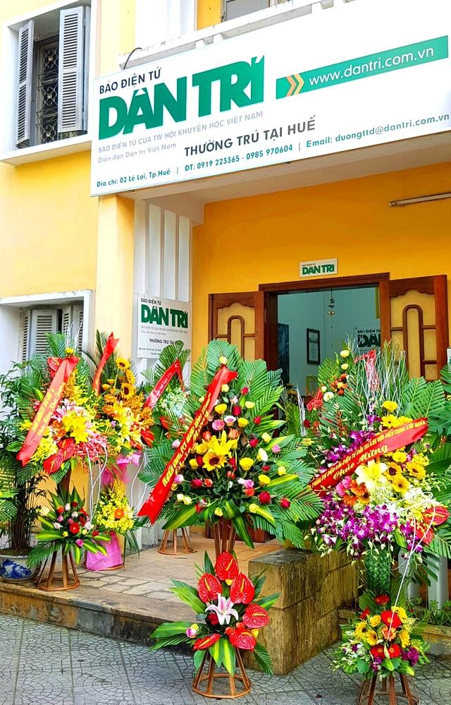 Điểm giao dịch của Báo Dân trí tại Thừa Thiên – Huế