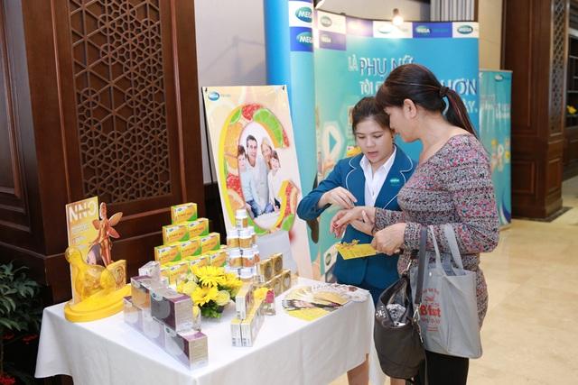 Cơ hội được tư vấn và trải nghiệm những sản phẩm chiết xuất từ Vitamin C&E thiên nhiên tại buổi hội thảo