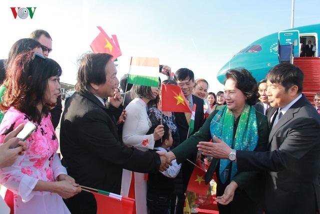 Kiều bào chào đón Chủ tịch Quốc hội Nguyễn Thị Kim Ngân thăm Hungary - 4