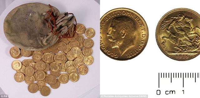 Có tổng cộng 913 đồng tiền vàng được đúc trong các năm từ 1847 đến 1915. Giá trị quy ra tiền mặt ở thời điểm hiện tại tương đương 500.000 bảng (14,5 tỷ đồng).
