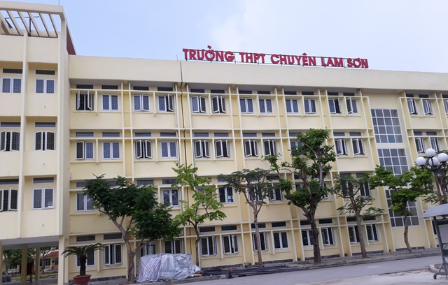 Trường THPT chuyên Lam Sơn nơi Việt theo học