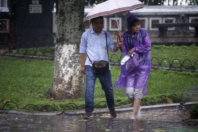 """Hà Nội trong cơn mưa giải nhiệt """"quý hơn vàng"""" - 4"""