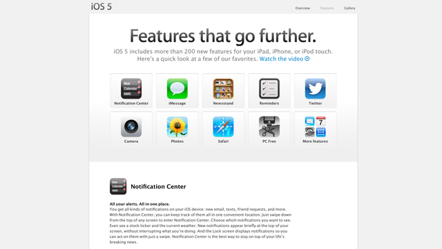 """Nhìn lại sự phát triển của iOS từ những ngày """"sơ khai"""" - 5"""