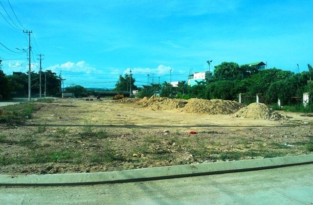 Công trình xây dựng khu dân cư phía Đông trụ sở UBND phường Nhơn Phú nguyên thủy là đất nông nghiệp