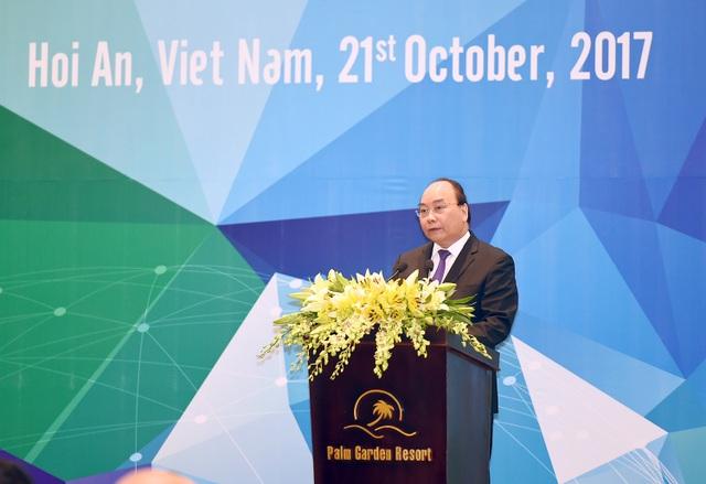 Thủ tướng phát biểu tại hội nghị Bộ trưởng Tài chính APEC 2017 sáng 21/10