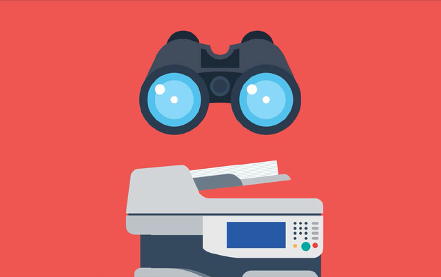 Theo nghiên cứu của Spiceworks**, chỉ có 16% các doanh nghiệp quan tâm đến bảo mật máy in, trong khi máy in không được bảo mật đang trở thành một lỗ hổng tiềm ẩn.