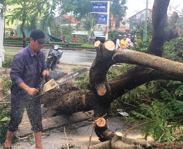 Phú Yên khẩn trương khắc phục sao bão số 12