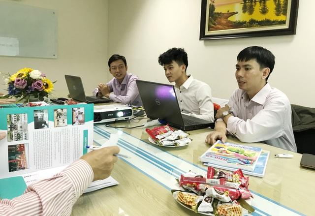 Một trong số các đội thi tiên phong ứng dụng công nghệ thực tế ảo, cụ thể là AR, vào sản phẩm dự thi vòng Chung khảo cuộc thi Nhân tài Đất Việt.