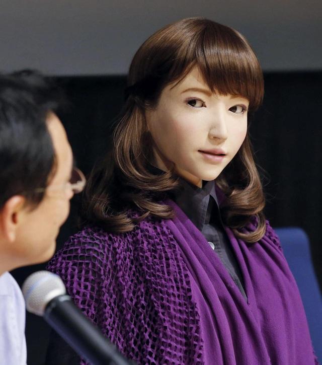"""Gặp gỡ robot xinh đẹp, """"có hồn"""" nhất thế giới đến từ Nhật Bản - 3"""
