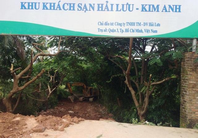 Mặc dù dự án Hải Lưu được UBND tỉnh Kiên Giang cấp phép đầu tư (lần 1) từ tháng 4/2007; nhận đất vào tháng 7/2008 nhưng đến tháng 12/2016, dự án này mới có giấy phép xây dựng. Nhưng đến nay, DN vẫn chưa xây dựng gì trên mảnh đất này theo giấy phép xây dựng.
