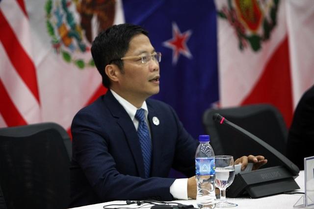 Bộ trưởng Trần Tuấn Anh cho rằng điểm khó khăn nhất là phải tìm ra điểm cân bằng mới cho việc duy trì hiệp định này ở mức độ chất lượng cao (Ảnh: Quý Đoàn)