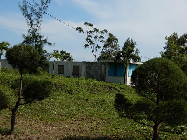 """Chủ đầu tư từng khẳng định đây là """"thiên đường"""" nghỉ dưỡng tại khu vực Sơn Trà. Song, đã hơn 10 năm trôi qua, nó chỉ là bãi cây dại với những căn nhà ma rêu mọc xám xịt như lô cốt nhìn ra biển."""
